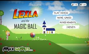 雷拉和魔法球