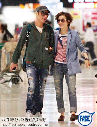 甜蜜繑手 <br><br>安仔和 Sammi自復合後打得火熱,唔再避忌。去年 6月, 2人到日本旅行,糖黐豆大方於機場繑到實一實,十足初戀情侶一樣。《忽然 1周》圖片