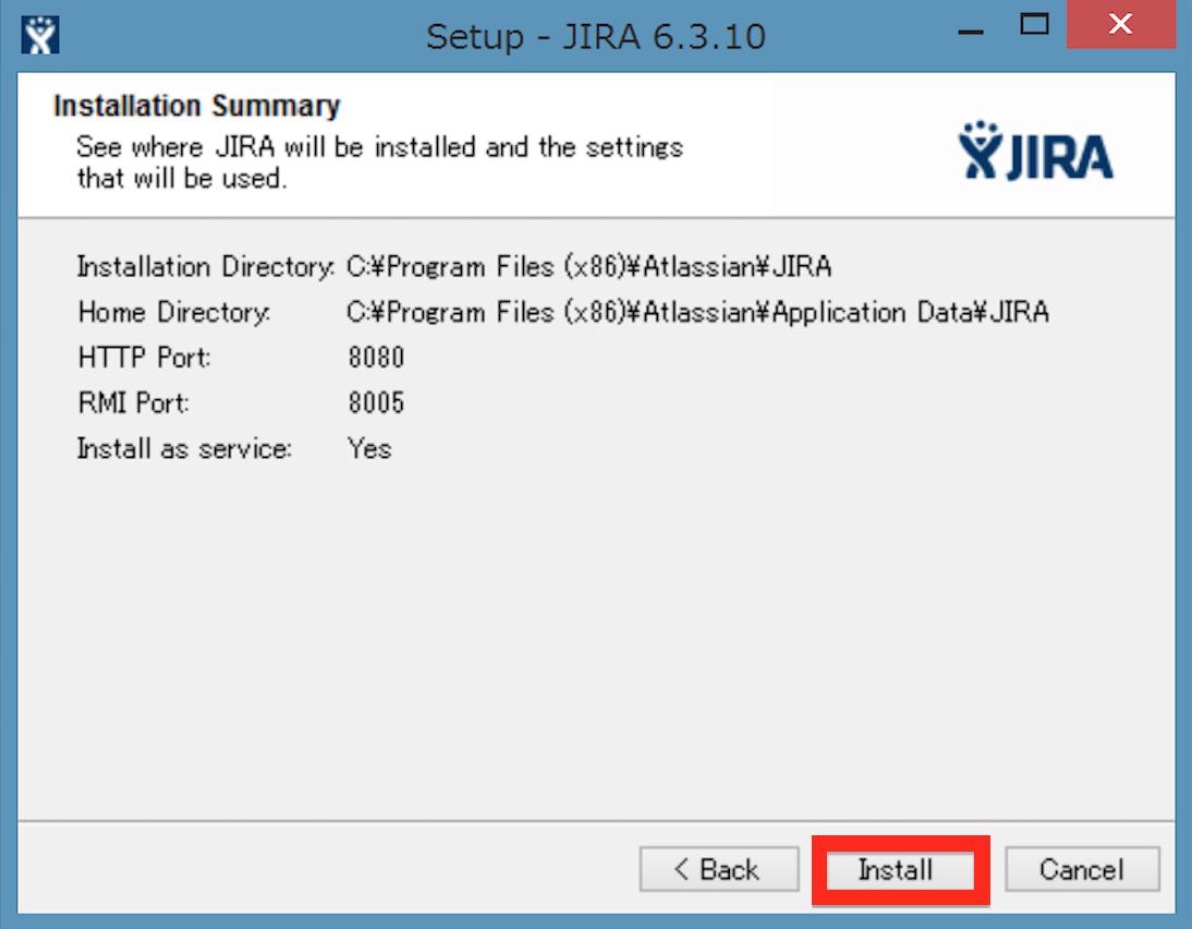 JIRA Install 03