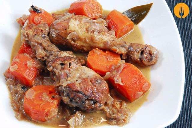 receta pollo salsa facil