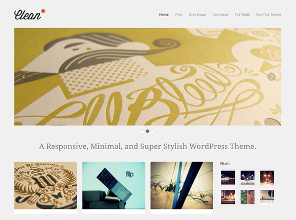 Clean WordPress Theme for Wedding Photographers