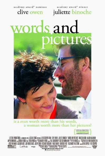 Poster Of English Movie Words and Pictures (2013) Free Download Full New Hollywood Movie Watch Online At Alldownloads4u.Com