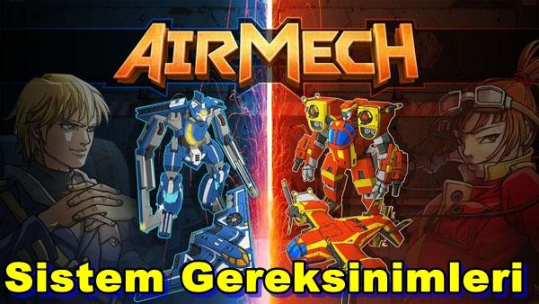 AirMech PC Sistem Gereksinimleri