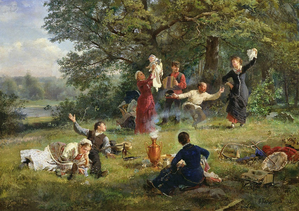 Alexey Korzukhin - The Sunday 1884