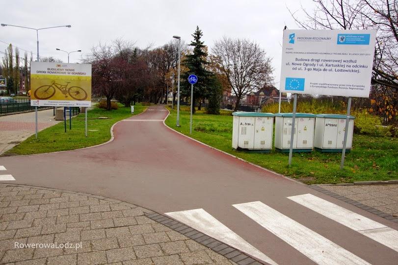 Kolejna droga rowerowa zbudowana za unijne pieniądze.