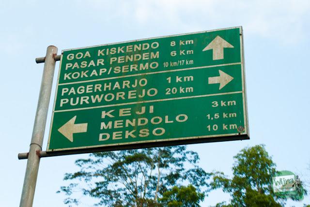 Rute menuju Samigaluh dari Purworejo