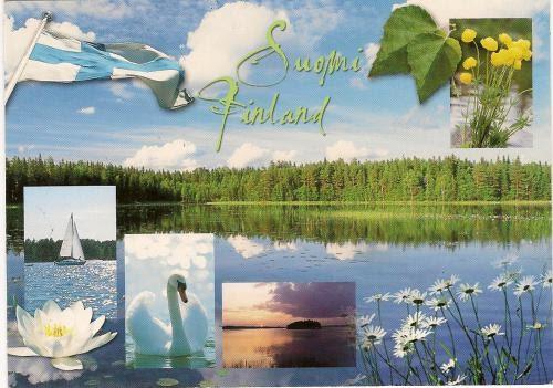 Отправлю открытку из финляндии