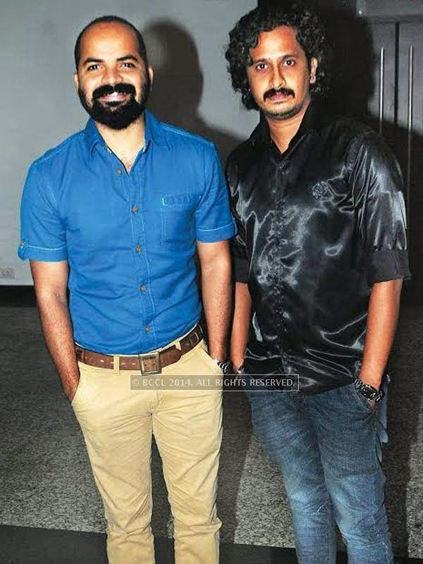 Vinay Fort and Nandan Unni spotted at the star studded celebrity cricket launch in Kochi.