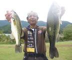 4位 田中健治プロ(河A7) 5本 3,060g 2011-10-28T01:07:47.000Z