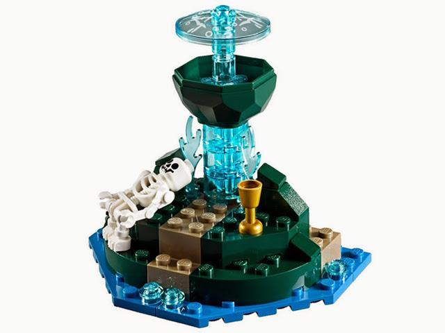 4192 レゴ パイレーツオブカリビアン 生命の泉