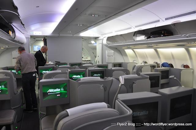 Alitalia roma fiumicino abu dhabi business class for Ba cabina di prima classe