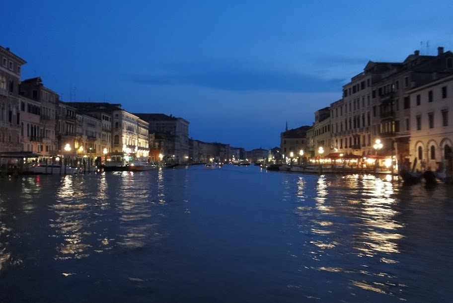 Canal Grande at sunset