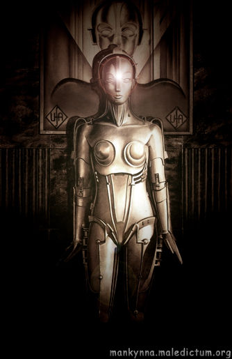 Оригинальный Гиноид - железная леди Метрополиса