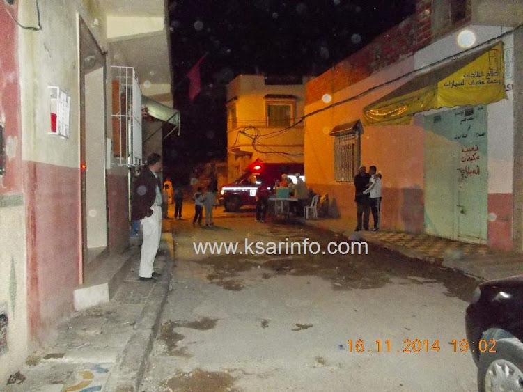 انهيار جدار بناية مهجورة يدخل الرعب على ساكنة شارع سيدي بوحاجة والمجاورين .