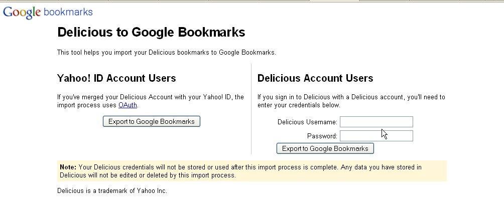 how to bring passwords from google bookmarks