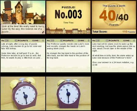 Professor Layton Alarm Clock Papercraft