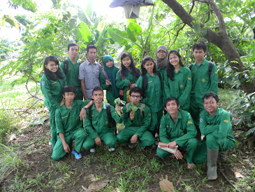 with my praktikan Agronomi Umum