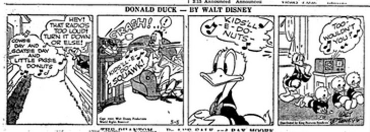 Donald Duck - Turn it down!