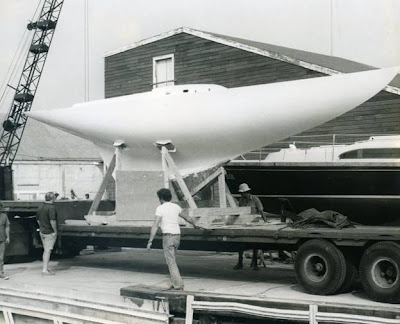 The new Tango arrives in Marblehead, 1976