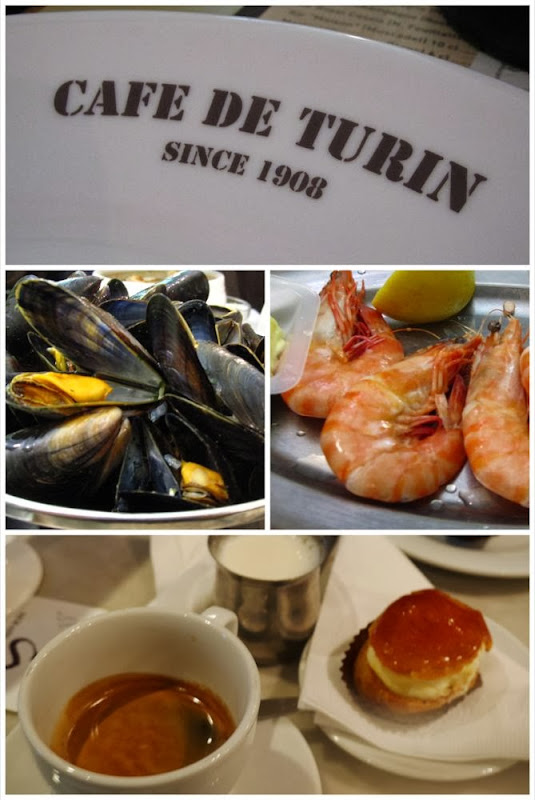 Cafe de Turin and Serain Cappa
