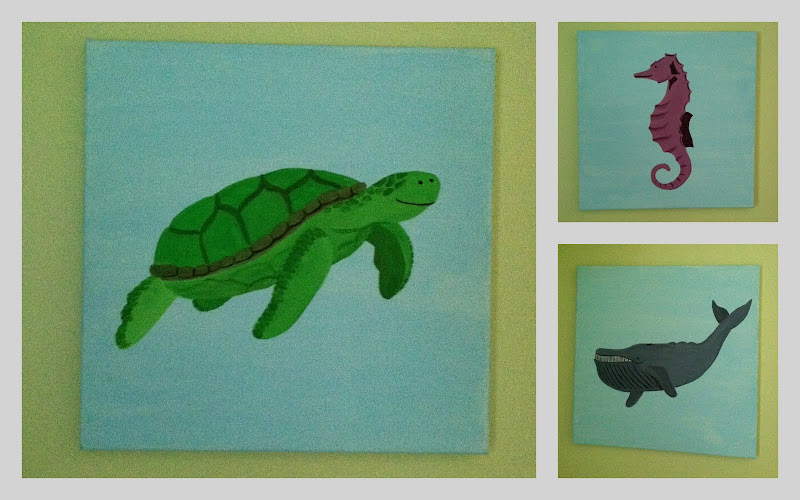 Turtle Twin Bed Set