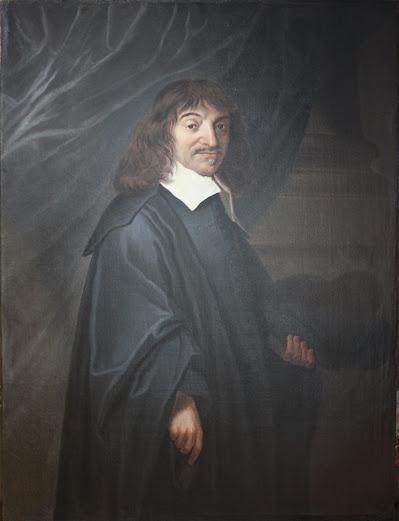 Ecole flamande d'après Franz Hals, Portrait de René Descartes, XVIIème siècle
