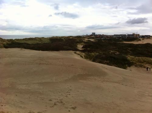 Dunes mer du Nord Belgique