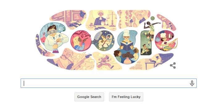 Google Doodle Celebrate International Women's Day 2015