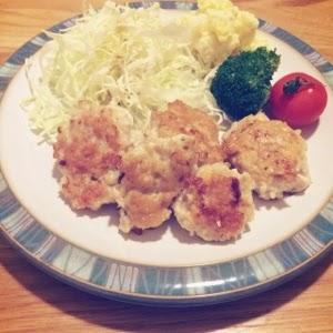 豆腐と鶏肉の揚げないナゲットレシピ