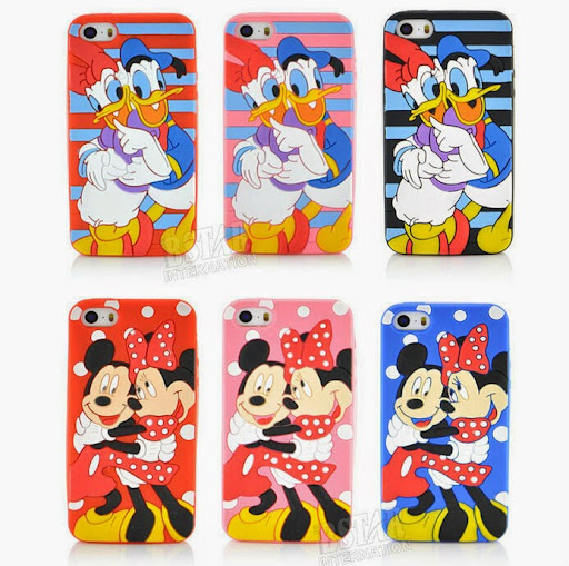 Style Cartoon Mickey Minnie mouse duck lovers Couples p