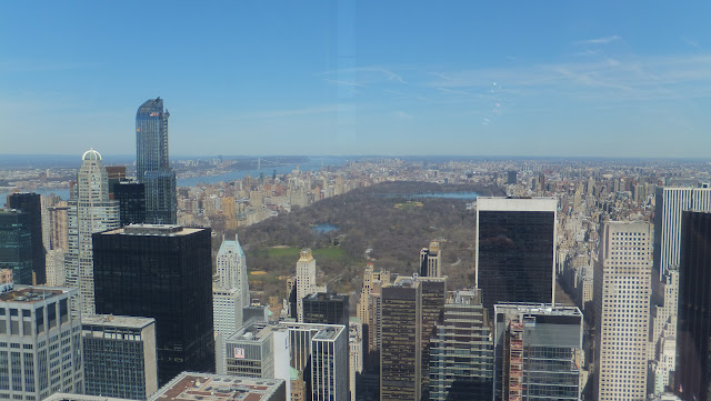 Central Park, Manhattan vista desde The Top of the Rock, Elisa N, Blog de Viajes, Lifestyle, Travel