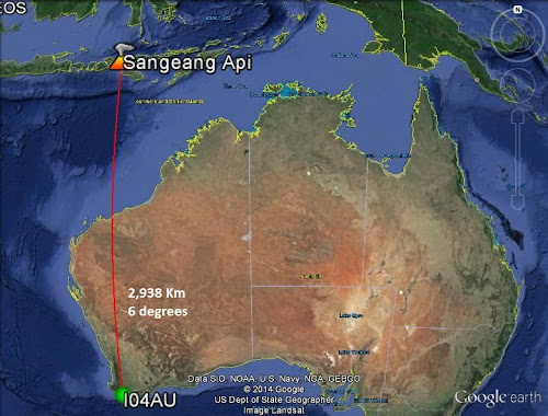 Location of I04AU