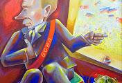 Николаевские и киевские художники посмеялись над регионалами и Путиным