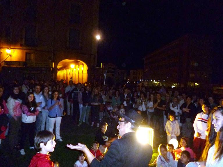 Magia de calle en Ávila