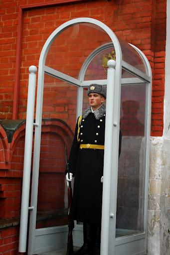 Kremlim Moscow guard