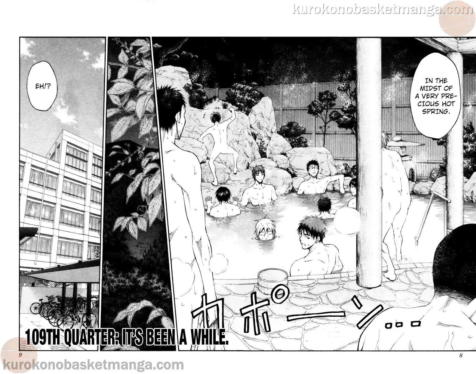Kuroko no Basket Manga Chapter 109 - Image 06-07