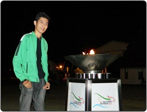 Obor Sea Games ke-26 di Jayapura