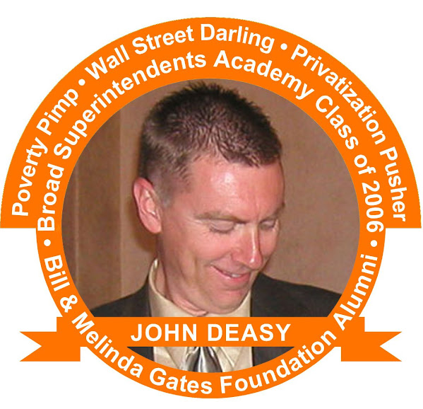 Plutocratic priest of privatization, LAUSD Superintendent John Deasy