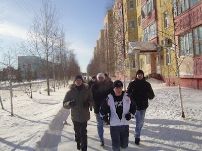 23-го февраля по всей России прошли акции здоровой молодёжи - Покачи