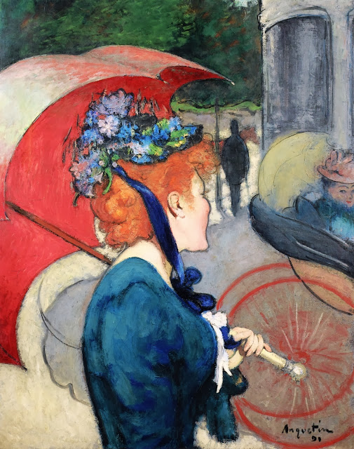 Louis Anquetin - Woman with Umbrella, 1891