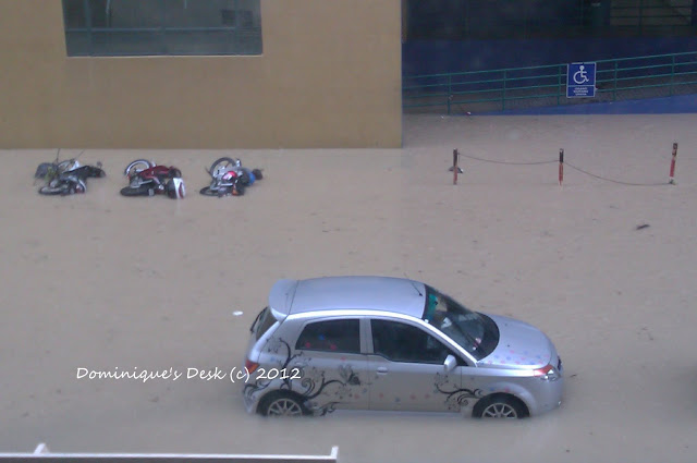 Flash Flooding in Kuantan