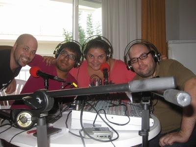 Apunto de grabar el Ohhh! TV 126 desde Sitges