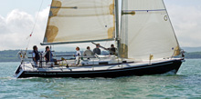 J/105 sailboat- sailing on Solent in J/105 EuroCup