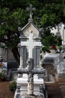 Cemetery in Dubrovnik Croatia