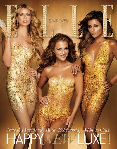Iconos de estilo: Paula Echevarria portada ELLE diciembre 2010