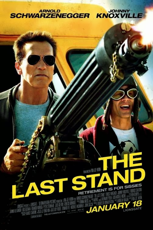 Poster Of The Last Stand (2013) Full Movie Hindi Dubbed Free Download Watch Online At Alldownloads4u.Com