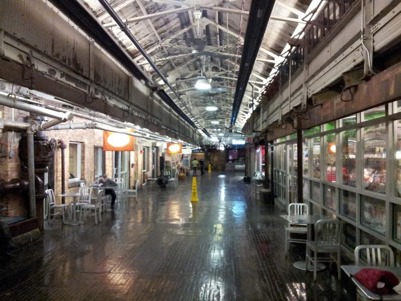 Chelsea market empty!