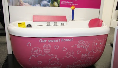 diseño baño niña