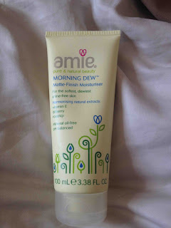 amie morning dew matte finish paraben free moisturiser