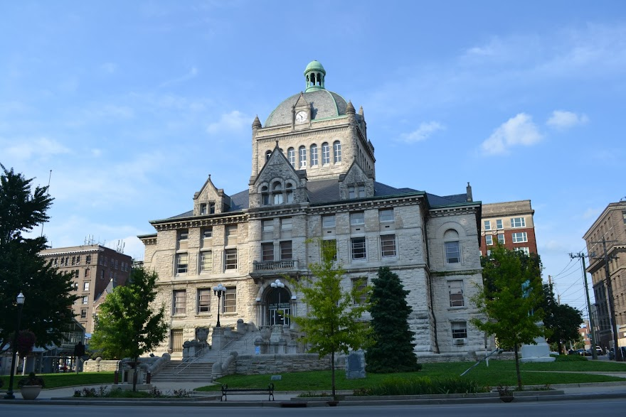 Здание суда графства Файетт. Лексингтон, Кентукки (Fayette County Courthouse, Lexington, KY)